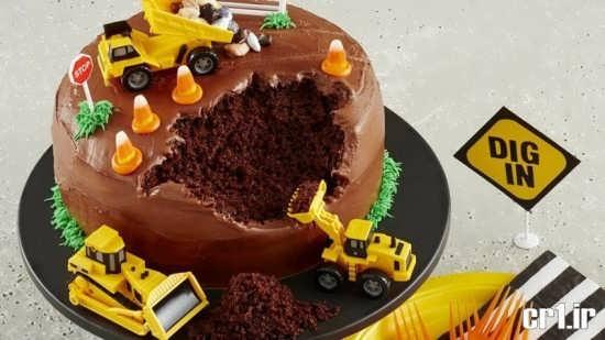 تزیینات زیبا برای کیک تولد پسرانه