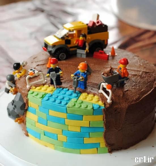 تزیین زیبا و خلاقانه برای کیک تولد
