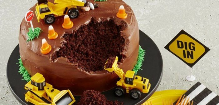 تزیین کیک پسرانه