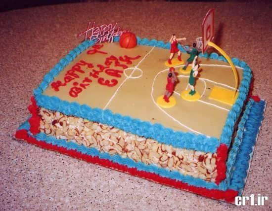 تزیین زیبا و فانتزی کیک تولد