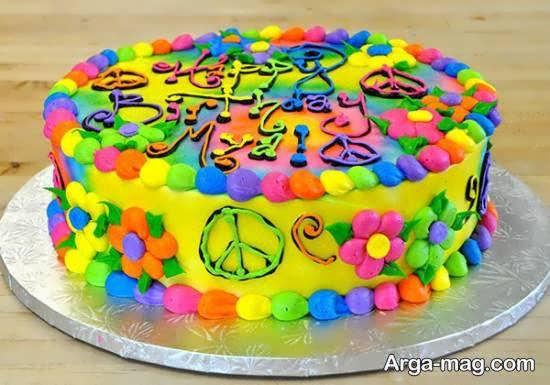 طرح دادن به کیک