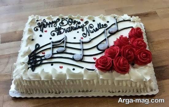 مدل زیبا و فانتزی کیک
