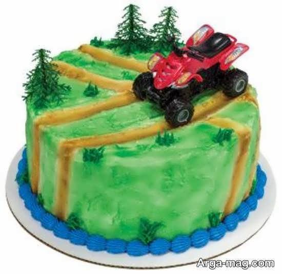 تزیینات کیک پسرانه