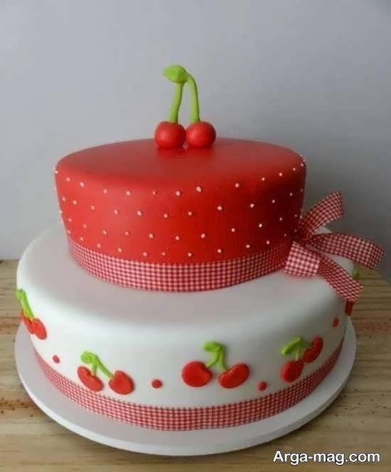 طراحی کیک جالب