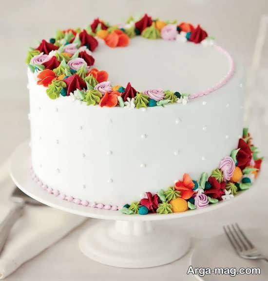 کیک زیبا شده