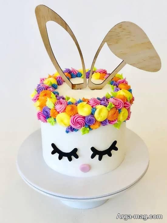 تزیینات کیک به شکل صورت