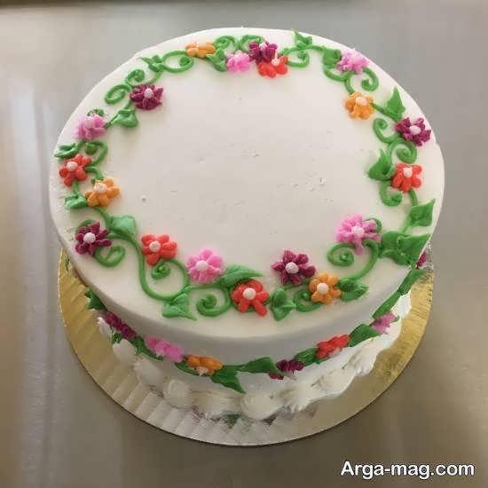 زیبا سازی کیک به روشی جدید