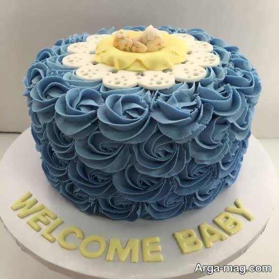 کیک اراسته شده