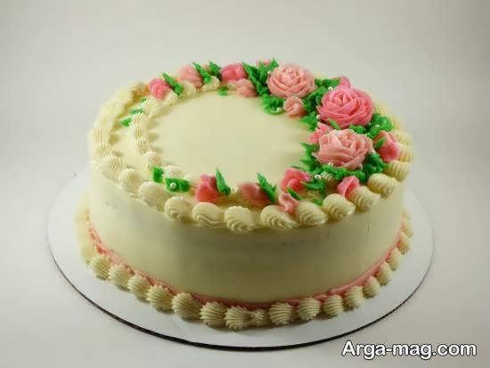 زیبا کردن کیک