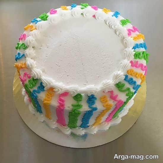 تزیینات زیبای کیک
