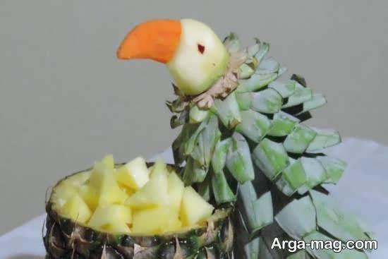 تزیینات زیبای آناناس