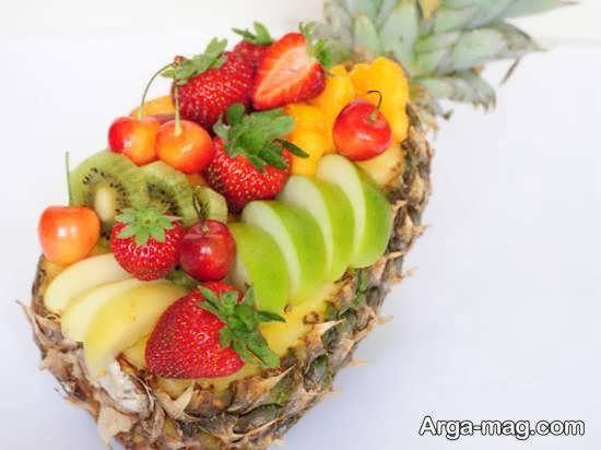 تزیینات خاص آناناس