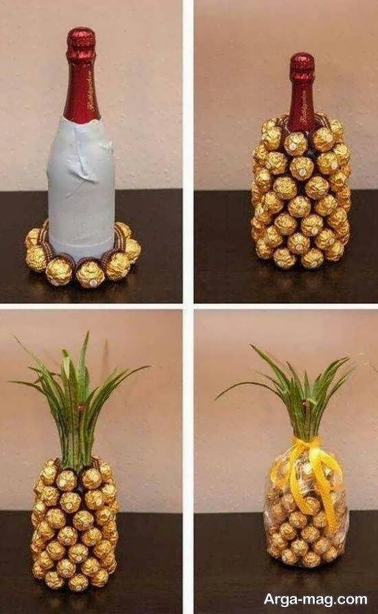زیبا آرایی شیک آناناس