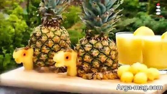 زیبا سازی آناناس
