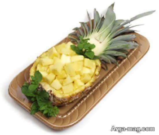 زیبا سازی آناناس به روشی جدید