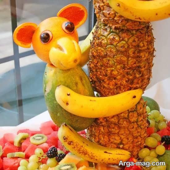 شکل دادن به آناناس