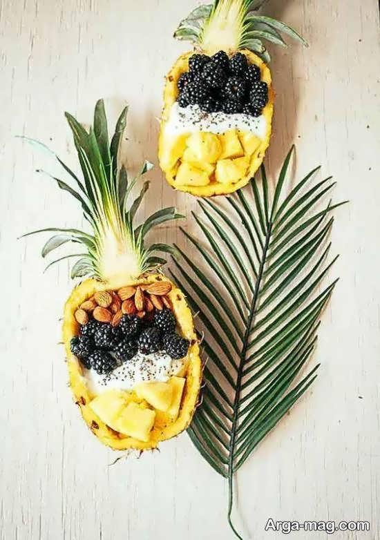 تزیینات متنوع آناناس