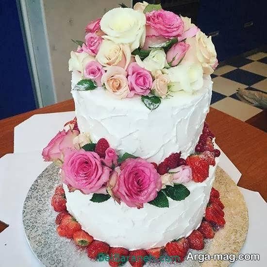 کیک عروسی زیباشده