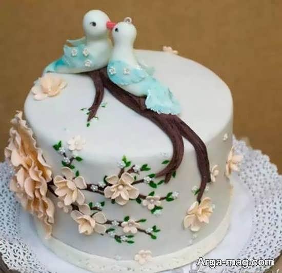 تزیینات کیک عروسی