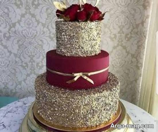 زیبا سازی کیک عروسی