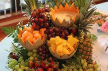 تزیین آناناس به روشی زیبا