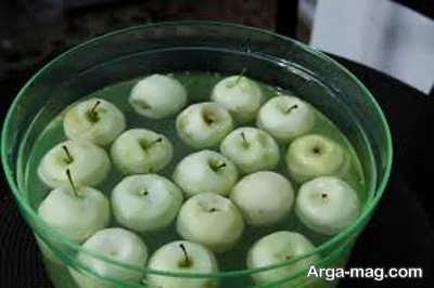 روش تهیه کمپوت سیب خانگی