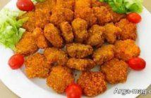 طرز تهیه ناگت مرغ خانگی